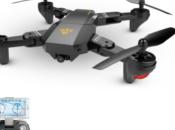 VISUO XS809W: drone pieghevole telecomandabile smartphone
