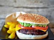 Veggie burger patate alla curcuma