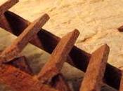 Costruzione 222: torre struttura interna prima rampa legno