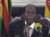 presidente dello Zimbabwe Robert Mugabe dimesso
