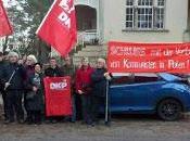 Comunisti tedeschi, presidio all'ambasciata polacca solidarietà degli attivisti condannati