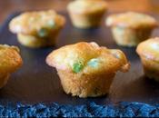 Muffin salati piselli prosciutto