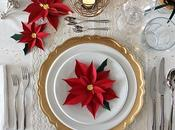 Table setting stelle natale carta promozione euronics/sambonet