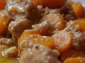 Spezzatino maiale alle carote