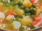 Zuppa piselli patate