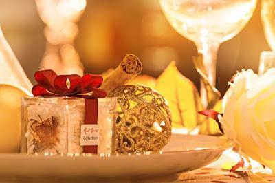 Bomboniere Matrimonio Natalizio : Bomboniere di matrimonio invernale con i colori del natale ed