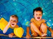 Bambini piscina: benefici accorgimenti