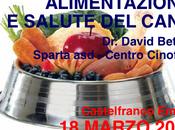 Alimentazione salute cane. Marzo 2018, Sparta. Castelfranco Emilia