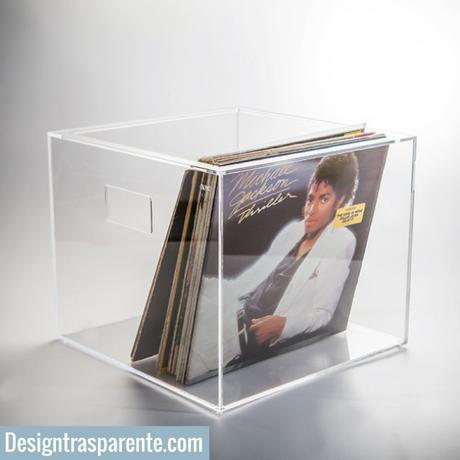 Box per dischi vinile: contenitore per 33 giri.