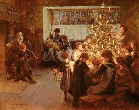 For a Victorian Christmas ~ Dress Your Own Victorian Christmas Tree.