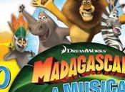 """dicembre 2017 """"Madagascar Musical Adventure"""" Teatro Brancaccio"""