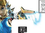 Offerta Amazon: Scheda Switch ufficiale Nintendo collaborazione SanDisk