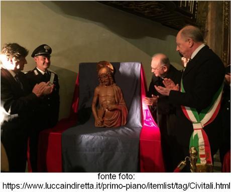 Il Busto di Cristo di Matteo Civitali torna a Lucca - Paperblog