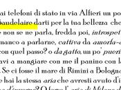 Baudelaire l'aria Milano d'inverno mare Nadiella Campana.