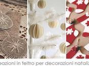 Blogmas Creazioni feltro decorazioni natalizie