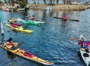 Breve, intensa ricca pagaiata Lago d'Iseo!