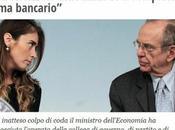 Fresche giornata: Ministro Padoan butta piedistallo Madonna Fiorentina Maria Elena Boschi