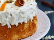 Chiffon Cake natalizia arancia cannella