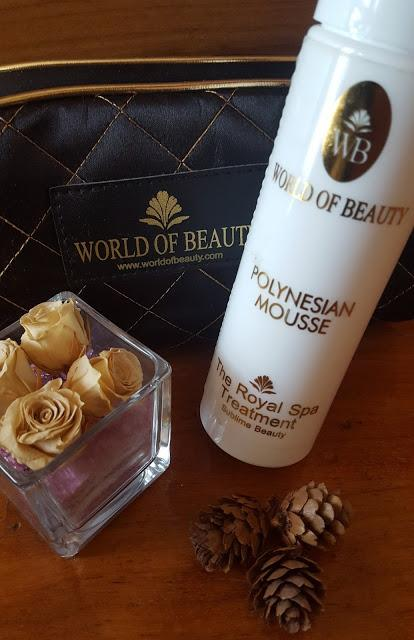 POLYNESIAN VANILLA MOUSSE by World of Beauty