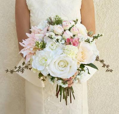 bouquet fiori finti