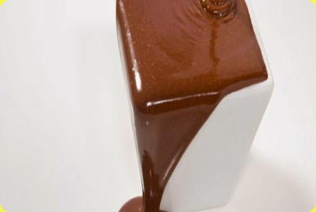 Salsa al cioccolato e panna