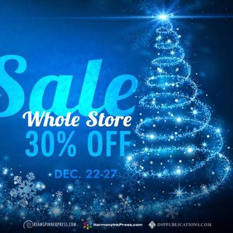 Buone Feste! – Sconto 30% su tutto lo store dal 22 al 27 dicembre!