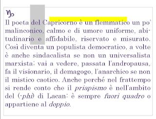 Il poeta del Capricorno│Quello che il (-phi) è flemmatico...e anarchico