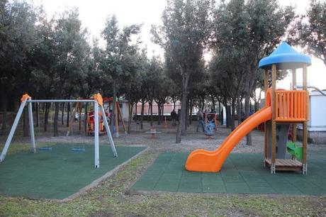 Foto. Ercolano, inaugurato nuovo parco giochi per i più piccoli e bimbi disabili