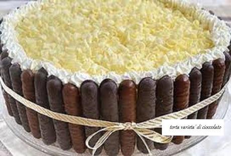 Torta varieta' di cioccolato