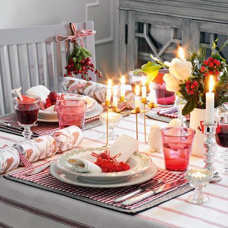 Risultati immagini per christmas tablesetting white and fadd