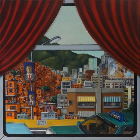 ARTE: La vernice spessa di Sandro Bassi