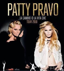 """Patty Pravo Annuncia su Facebook il nuovo tour che partirà nel 2018 dal titolo """"la cambio io la vita che """""""
