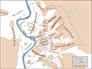 La collina Veia spianata per la vista del Colosseo