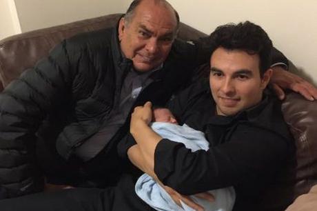 Fiocco azzurro per Sergio Perez, il messicano è diventato papà per la prima volta