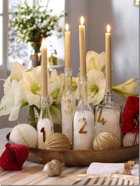 [Calendario dell'Avvento] Progetto faidate 23 #Centrotavola di Natale last minute