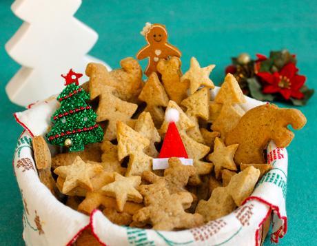 Biscotti di Natale speziati [Ricetta vegan]