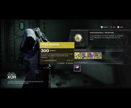 Destiny 2: nuovi oggetti di Xur in vendita dal 22 dicembre