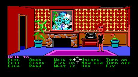 Il capolavoro Maniac Mansion approda su Steam