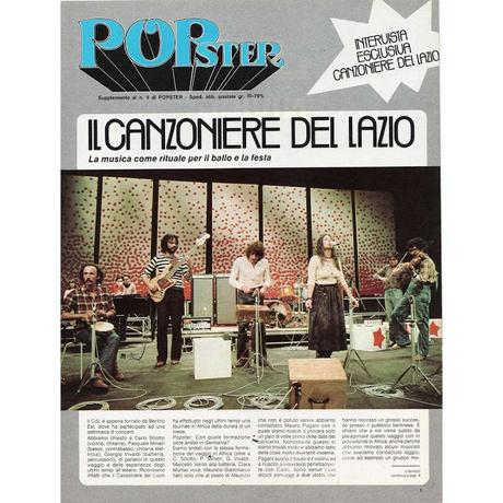 Canzoniere del lazio: novembre e dicembre 1976