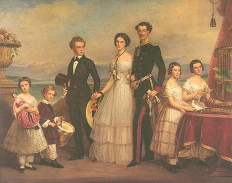 December 24th 1888, the last Christmas Empress Elisabeth of Austria spent surrounded by her family.