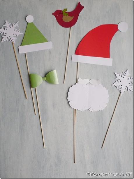 [Calendario dell'Avvento] Progetto faidate 24 Photo booth per le feste natalizie