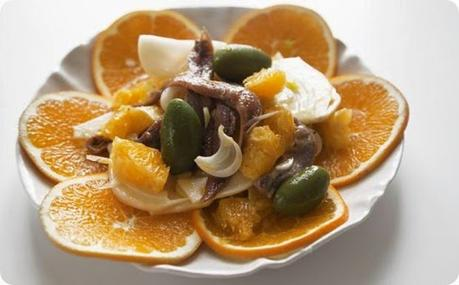 Insalata siciliana di arance