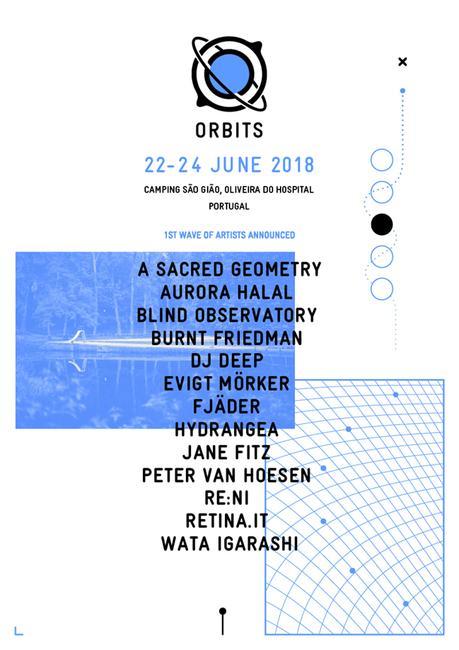 A Sacred Geometry, Aurora Halal, Blind Observatory, Burnt Friedman, Dj Deep, Retina.it… i primi nomi del portoghese Orbits, edizione 2018