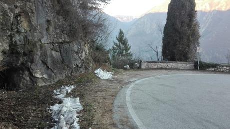 Il luogo del ritrovamento sul Monte...