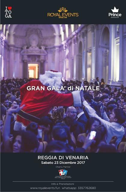 Buon Natale Gran Galà di Natale Reggia di VenariaUn party...