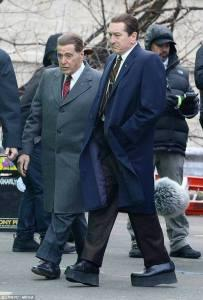 "Una Nuova Foto Dal Set Del film "" The Irishman """