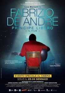 FABRIZIO DE ANDRÉ – PRINCIPE LIBERO ANTEPRIMA AL CINEMA