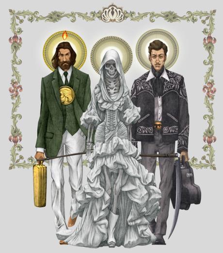 Parliamo di #SantaMuerte #Malverde #SanJudas e altri culti popolari su @radio24_news @NessunLuogo24 di @giampaz