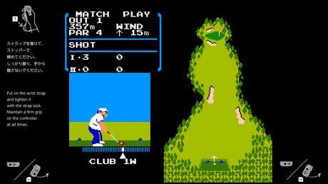 NES Golf rimosso dal firmware di Nintendo Switch