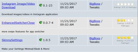 Cydia (iOS 9.3.x/iOS 10.x.x) – I Tweak già testati e funzionanti [Aggiornato 26.12.2017]